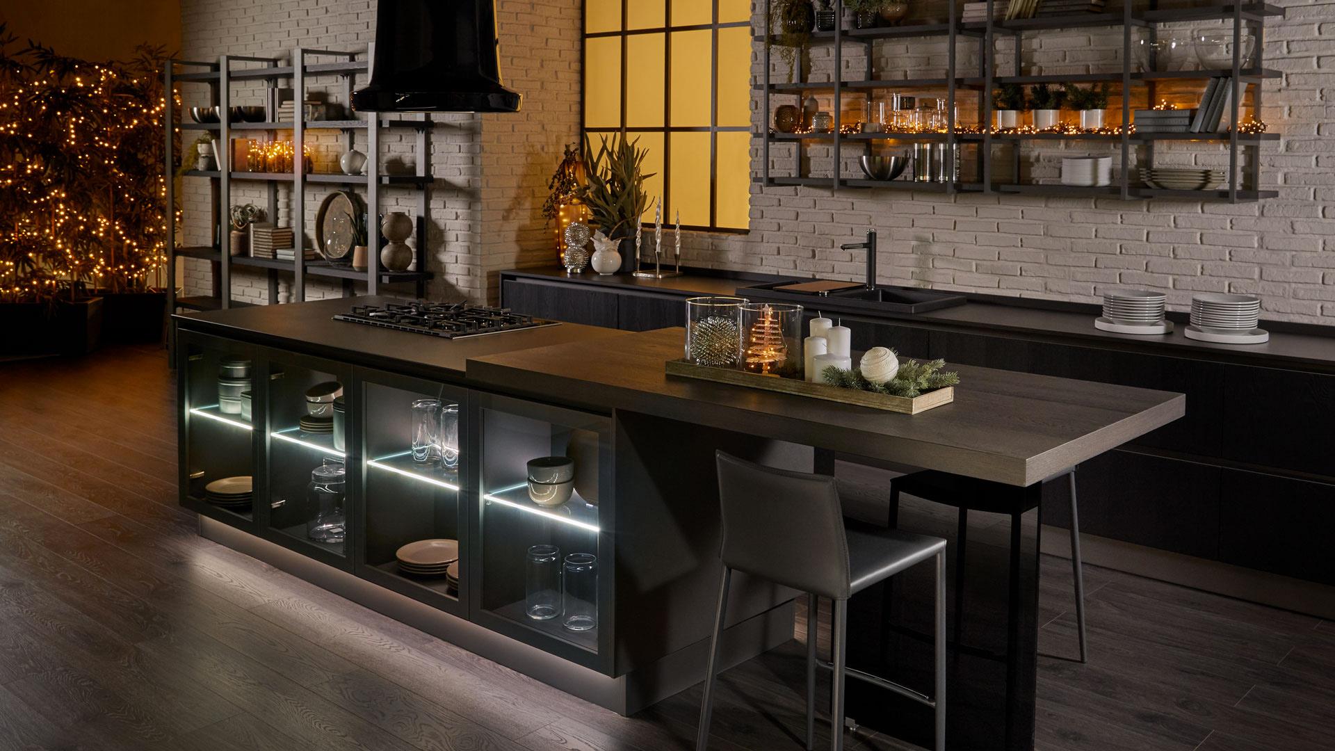 Cucina Lube Round Un Modello Dall Animo Green Lube E Creo Store Milano Vendita Cucine Lube E Creo